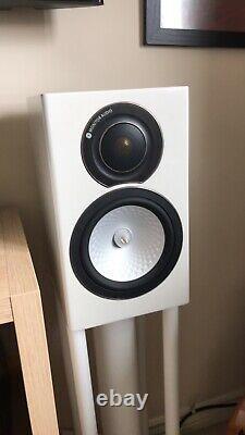 Moniteur Audio Rx1 Haut-parleurs En Blanc Brillant