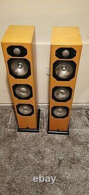 Moniteur Audio Silver S8 Main / Stereo Haut-parleurs, Boîtes Originales