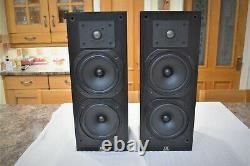 Moniteur Vintage Audio Monitor 11 Haut-parleurs British Classic Stand Mounted Rare