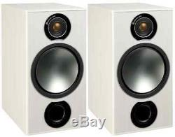 Monitor Audio Bronze 2 Haut-parleur Stéréo Paire Noir Ou Blanc Hifi Audio Qu'est-ce Que Salut-fi