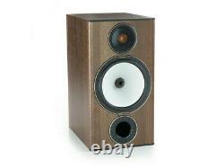 Monitor Audio Bronze Bx2 Haut-parleurs- Paire Noyer/argent Menthe, Appartenant À De Nouvelles