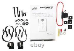 Mudsys46 46 Mtx '' Bluetooth Overhead Système Stéréo Utv Audio Marine Soundbar Vhr