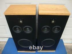 Nice Polk Audio Sda 2 (stereo Dimensional Array) Haut-parleurs Tour -reconditionné