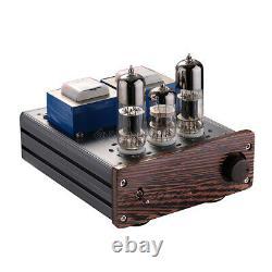 Nobsound Mini 6n6 Vacuum Tube Amplificateur+wooden Speaker Class Ab Stereo Audio Amp