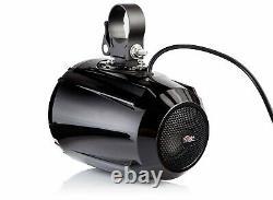 Nutv5 Quad Bluetooth Waterproof Utv Rzr Polaris Haut-parleurs Stereo Système Audio