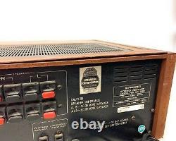 Pioneer Sx-780 Vintage Stereo Récepteur, Alimentation / Aucun Son Sur Haut-parleurs