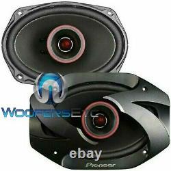 Pioneer Ts-6900pro 6x9 600w Bullet Tweeters Moto Car Haut-parleurs Audio Nouveau