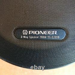 Pioneer Ts-e2099 Vintage Paire 3-way 200w Voiture Audio Haut-parleurs Stéréo Vieux Skool