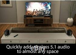Platin Monaco 5.1 De Plus Axiim Wireless Home Audio Haut-parleur Stéréo Système