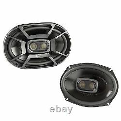 Polk 6x9 Pouces 450w 3-way Car / Boat Coaxial Stereo Audio Speakers Marine Db692