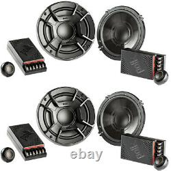 Polk Audio 6.5 300w 2 Voies Voiture / Composante Marine Vtt Haut-parleurs Stéréo (4 Pack)