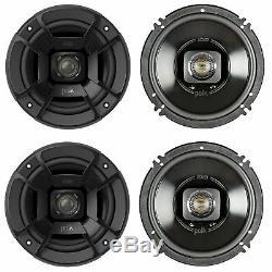 Polk Audio 6.5 300w 2 Way Voiture / Marine Vtt Stéréo Haut-parleurs Coaxiaux Db652 (2 Paires)