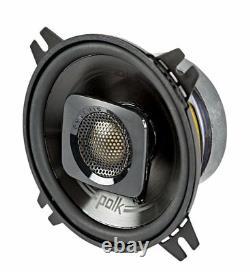 Polk Audio Db402 4 135w 2 Way Car/marine Atv Stereo Haut-parleurs Noirs (4 Pack)