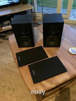 Polk Audio R10 R-10 Hifi Stéréo Bookshelf Speakers Audiophile Black Vgc Uk Sell
