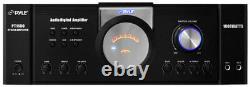 Pyle Pt1100 1000w Digital 2 Channel Stereo Home Audio Speaker Ampli