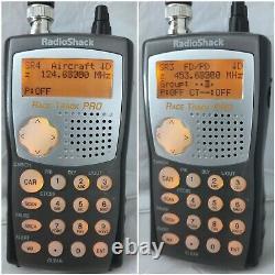 Radio Shack Pro-99 Scanner Numérique Portatif De Police Scancat Tuned -wide- Band