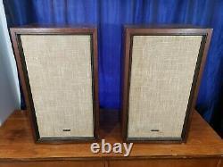 Rare Vintage Kenwood Kl-660 4-way Stereo Speakers Japan Sound Great Free Ship