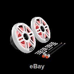 Rockford Fosgate M2-8h Blanc 8 Lumières Corne Marine Tweeters Haut-parleurs Pour Bateaux New