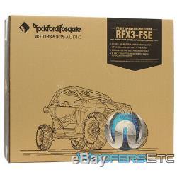 Rockford Fosgate Stéréo X3-stage2 Audio Speaker Kit Pour Can-am Maverick X3 Modèle