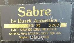 Ruark Acoustics Sabre Mkii Haut-parleurs Stéréo, Son Brillant Solid Cabinets