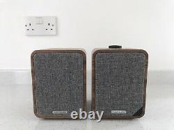 Ruark Audio Mr1 Mk2 Haut-parleurs Stéréo Bluetooth Actifs Dans Walnut