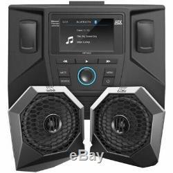 Rzrsystem1 Système Audio Mtx With2 Haut-parleurs Stéréo Bluetooth Et 3 Pour Polaris Rzr