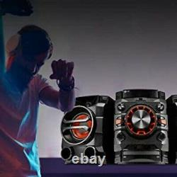 Salut Fi Sound System Powerful Bass 230w Bluetooth Fm Radio CD Tv Stereo Haut-parleurs