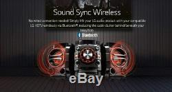 Salut Fi Sound System Puissant Basse 230w Bluetooth Fm Radio CD Tv Haut-parleurs Stéréo