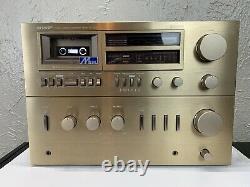 Sharp Sc-1250 Hb Am/fm Stéréo Radio Lecteur Cassette Récepteur Audio -pas De Haut-parleurs