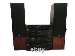 Sony Stereo Concept System - Moniteur Audio Haut-parleurs (hi-fi Sépare 1992-93)