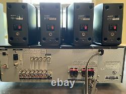 Sony Str-k750p Home Stereo Surround Sound Recepter/speakers Sa-wmsp75 Subwoofer