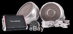 St600 Platinum Moto Système D'enceintes Stéréo Bluetooth Sound System