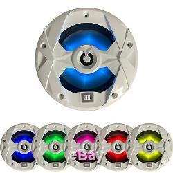 Stereo Audio Marine, 4x 8 Haut-parleurs Led, 10 Led Caisson De Graves, 5 Canaux Amp Bundle