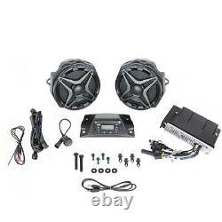 Système Authentique Honda Audio Talon 1000r 1000x X-4 Haut-parleurs Stéréo Amp # F107