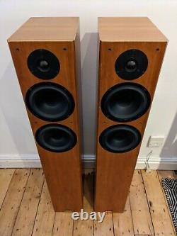 Tannoy Revolution R3 Floor Standing Stereo Speakers Vintage Accueil Cinéma Audio