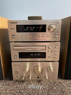 Teac H300 Série Audio Hifi Système Séparé Stereo Tuner CD Lecteur Ampli Haut-parleurs