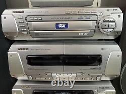 Technics Stereo System Dv280 DVD CD Hi-fi Sb-3110 Haut-parleurs Surround Sound