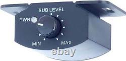 The System 1 Par Custom Auto Sound Stéréo Haut-parleur Mise À Niveau 2 Haut-parleurs & Subwoofer