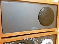 Tivoli Audio Model Two Am/fm Stereo Table Radio & Extra Speaker Henry Kloss