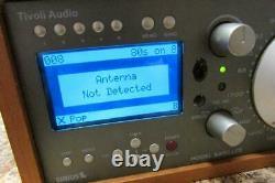 Tivoli Audio Satellite Modèle Radio Sirius XM Avec Haut-parleur Stéréo Supplémentaire &remote