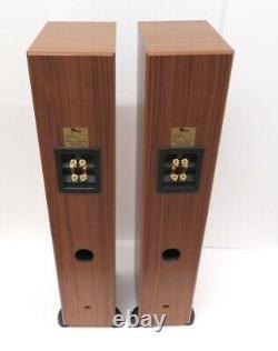 Totem Sttaf Stereo Heurters Avec Pieds Grazains Audio Ideal