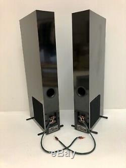 Très Rare Salut-end Nht Vt1.2 Audio Stéréo Audiophile Tour Haut-parleurs London W10 6ra