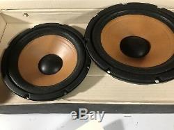 Ultra Rare Hafler 8 Subwoofers Old School Car Stereo Vintage Audio Haut-parleurs Mas