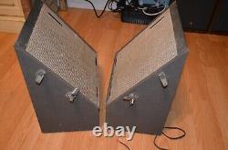 Vintage Akai Ss-50 Stereo Phonic Sound Haut-parleurs Hi-fi Retro Mid-century Japon