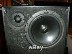 Vintage Big Haut-parleurs Stéréo Phase. Bonne Condition. Son Fantastique