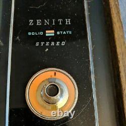 Vintage Zenith Circle Of Sound Solid State Table Tournante Stéréo Avec Haut-parleurs