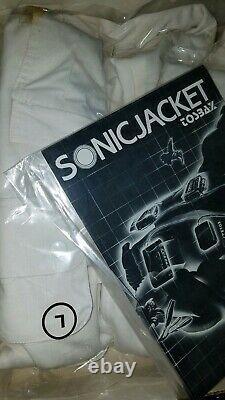 Vtg/toshiba Tosbax Sonic Jacket/body Sound Surround Portable Stereo Amp&speakers
