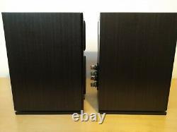 Wharfedale Diamond 220 Bookshelf Stereo Audio System 100with80ohms Haut-parleurs Câblés