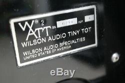 Wilson Audio Watt Puppy Tot Minuscule Haut-parleurs Stéréo Au Sol
