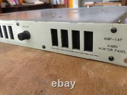Wohler Amp-1ap Audio Haut-parleur Moniteur Stéréo Niveaumètre Équilibré Xlr Dans Et Hors
